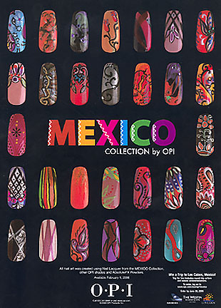 Mexico Inspired Nail Colors Ask Marivi Rbird