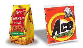 Biskuli & Ace - Examples of simplicity in Latin package design