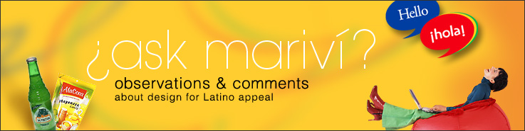 Ask Marivi - About Package Design for Latin Appeal.